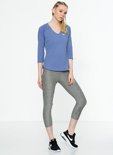 Nike Uzun Kollu Tişört Mor